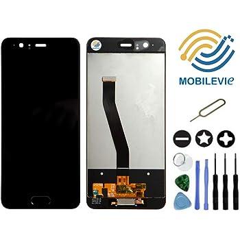 Mobilevie VITRE Tactile + ECRAN LCD Original Pret-A-Monter pour Huawei P10  Noir + Outils 695d382cc217