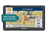 OHREX 712CL GPS Auto Navigazione satellitare da 7 pollici Bluetooth AV In SpeedCam Lane con aggiornamenti gratuiti delle Mappe UE e UK tutta la vita