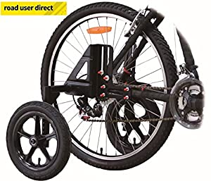 "Adult Bike Stabilisers / Training / Mobility Wheels Fit 20"" 24"" 26"" 27"" 28/700"" Wheels from Alpha Plus"
