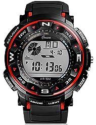 escalade montre montre de sport 30m étanche multifonction escalade plongée Digital LCD montre pour homme montres