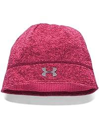 8ebc8542e43 Under Armour 2016 Ladies ColdGear UA Elements Fleece Beanie Womens Winter  Hat