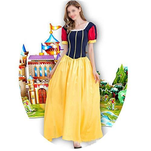 GZ Schneewittchen Kleid Prinzessin Costume Halloween/Christmas Ball Dress Up Märchen Kostüm Für Erwachsene,Als Zeigen,M