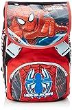 Spiderman - Zaino Scuola Sdoppiabile con Gadget, Big, Estensibile Elementari e Medie, 28 Litri
