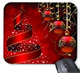 Gaming Mouse Pad Frohe Weihnachten Foto Muster 23 Design f¨¹r Desktop und Laptop 1 Pack