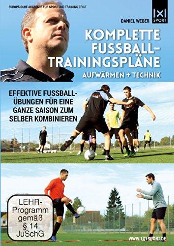 Komplette Fußball - Trainingspläne | Aufwärmen + Technik