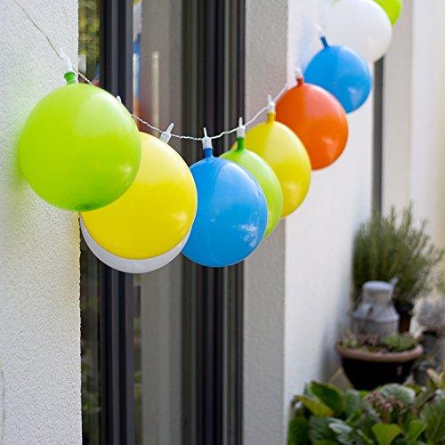 kette / Partylichterkette / Partybeleuchtung / Luftballon Lichterkette - perfekt für die Faschingsparty Kindergeburtstag & Party ()