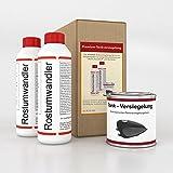 WAGNER Kit de traitement pour réservoirs de motos - 071003 - trois-pièces