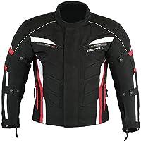 Velocity Moda Motocicleta Moto Chaqueta Impermeable Respirable, M