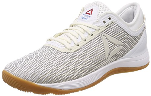 Reebok Damen Crossfit Nano 8.0 Flexgewebe Turnschuh R CROSSFIT NANO 8.0, Weiß (White/Classic White/Excellent Red/Blue/G 000), 39 (UK 6) -