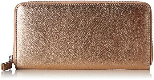 ESPRIT Damen 087ea1v033 Geldbörse, Orange (Copper), 1x10x21 cm