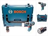 Bosch GSR 10,8 V-EC Akku Bohrschrauber in L-Boxx + 1 x GBA 10,8 V 2,5 Ah Akku