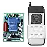 Domybest Interruptor de Control Remoto WIFI para Actuadores Motor eléctrico Puerta de garaje (2 Gang)