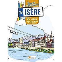 Isère : 30 lieux incontournables à colorier