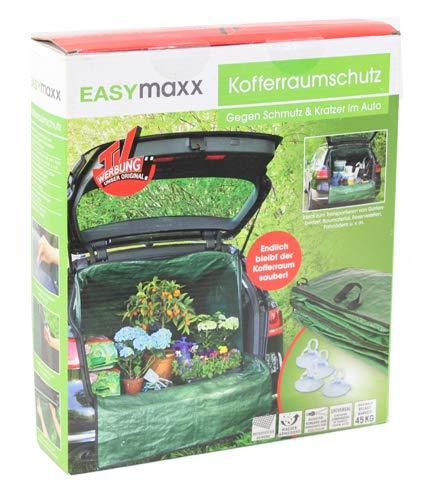EASYmaxx Kofferraumschtuz Gartenabfall Transportsack   Kofferaumplane für Gartenabfälle, Holz   Für PKW und SUV   Reissfest, Wasserabweisend, Universalgröße