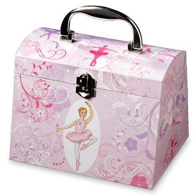 Schnörkel und wirbelt Ballerina Musikalische Schmuck - Schmuck-box Musikalische