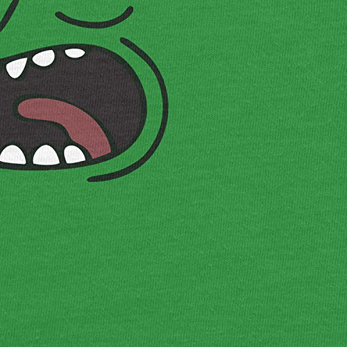 Planet Nerd - Pickle Rick - Damen T-Shirt Grün