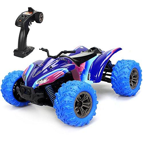 GPTOYS Ferngesteuertes Auto RC Auto 1/16 Skala 2,4 GHz 4WD Rennauto Monster Truck Spielzeug für Kinder - Mädchen, Monster-lkw-spielzeug