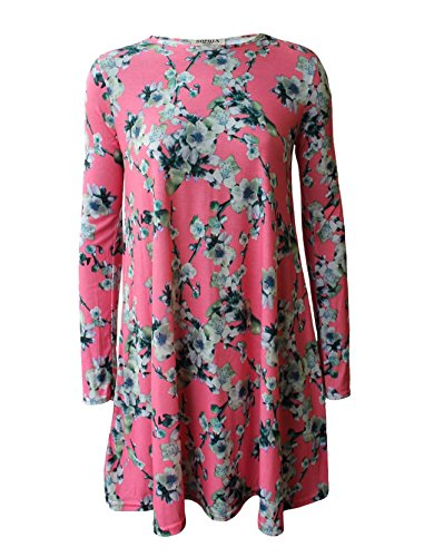RIDDLEDWITHSTYLE - Robe - Femme * taille unique PINK BLOSSOMS SWING DRESS