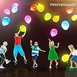 LCQI Globos Led Fiestas Cumpleaños Colores Luz Fiesta Boda Navidad Ceremonia Reunion Infantil Regalar Regalo Niño Niña Escolar Colegio Aniversario Carnaval