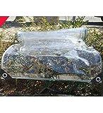 YUDEYU Trasparente Panno Antipioggia Capannone Autolavaggio Trasparente Tendina Schermo Addensare Telone (Size : 4x6m)