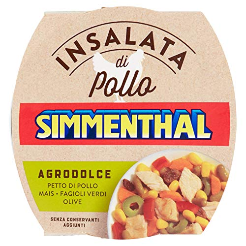 Sienthal Gustose di Pollo Verdure Agrodolce 160 gr