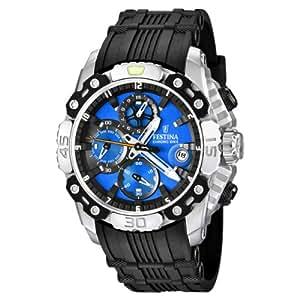 Festina - F16543/5 - Montre Homme - Quartz Chronographe - Bracelet Caoutchouc Noir