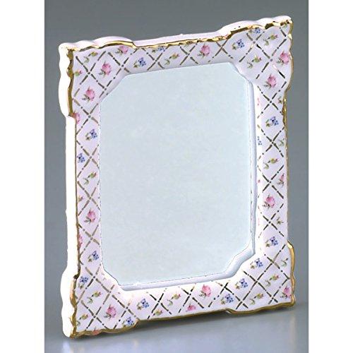"M.W. Reutter - Wall Mirror ""Checker Gold"" Measurements article in cm (L/W/H): 8 x 5,5 x 5"