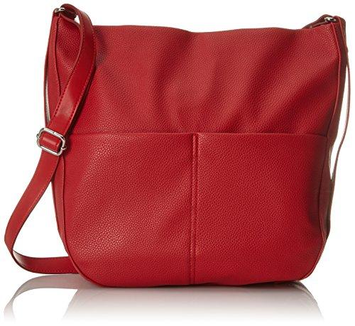 ESPRIT Damen 038ea1o062 Tote, Rot (Red) 31x34x11 cm