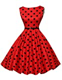 50er jahre vintage rockabilly kleid damenkleider knielang swing kleid petticoat kleid Größe L CL6086-7