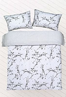 Northern Threadz Marble Design Polycotton Quilt Duvet Cover with Pillow Cases Bedding Sets produced by Northern Threadz - quick delivery from UK.