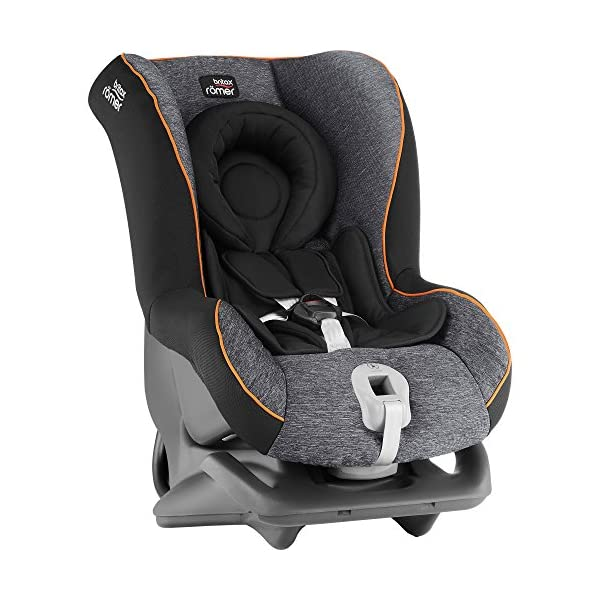 Britax Römer FIRST CLASS PLUS Group 0+/1 (Birth-18kg) Car Seat - Black Marble  This FIRST CLASS PLUS will come in a Black Marble design cover which is made from a more premium fabric with extra detailing Extended recline position when rearward facing - the safest way to travel Reassurance built-in - CLICK & SAFE harness tensioning confirmation 5