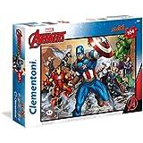 Clementoni - Maxi puzzle de 104 piezas The Avengers (23985)