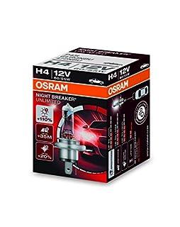 OSRAM NIGHT BREAKER UNLIMITED H4, halogen-headlamp bulb, 64193NBU, 12V, folding carton box (1 piece) (B00FQ8AVG4) | Amazon price tracker / tracking, Amazon price history charts, Amazon price watches, Amazon price drop alerts