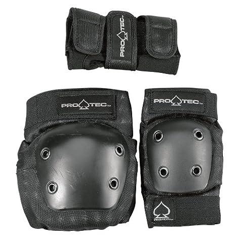 Pro-Tec Street Gear Protection coudes genoux et poignets enfant Noir