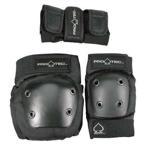 pro-tec-street-gear-protection-coudes-genoux-et-poignets-enfant-noir