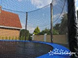 Trampolin mit Sicherheitsnetz, inklusive Leiter und Randabdeckung Gartentrampolin 250, 305, 370, 400, 430cm (10FT / 305cm) - 3