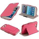 N33- Pink Flip Cover für Samsung Galaxy S3 i9300 i9305 Schutzhülle Hülle Schutzschale Schale Handytasche Tasche Etui Case