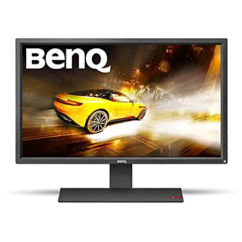 BenQ RL2755HM 27 inch Gaming Monitor (for Console e-Sports, 1 ms Response Time, Black eQualiser, Flicker-free, HDMI x 2, Built-in Speakers) - Black