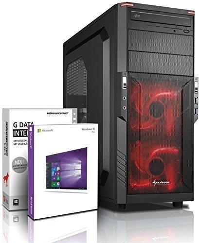 Gaming / Multimedia COMPUTER mit 3 Jahren Garantie! | Quad-Core! AMD A10-8750 4 x 4000 MHz | 8GB DDR3 | 500GB S-ATA III HDD | AMD Radeon R7000 4096 MB DVI/VGA mit DirectX11 Technology | USB3 | 22x DVD±R/RW | 6 USB-Anschlüsse | Windows10 Professional 64 #5610