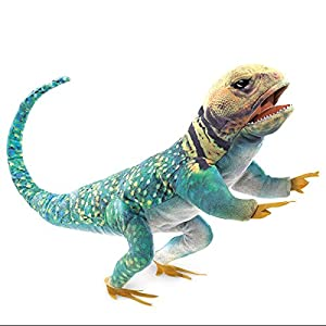 Folkmanis - Marioneta 3063 Collared Lizard marioneta