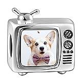 Soufeel Personalisiert Photo Charms Damen Beads Anhänger TV 925 Sterling Silber
