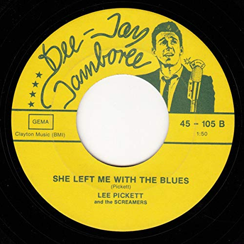 Fatty Patty / She Left Me With The Blues [Vinyl Single 7''] -