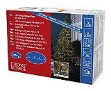 Konstsmide 3657-807 Micro LED Kompakt System Erweiterung: Lichterkette/für Außen (IP44) / VDE geprüft / 100 bernsteinfarbene Dioden/schwarzes Softkabel
