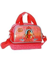 Disney Elena de Avalor Neceser de Viaje, 25 cm, 7.13 Litros, Rojo