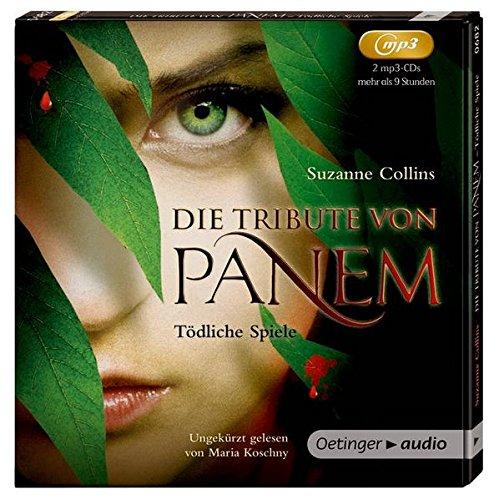 Buchcover Die Tribute von Panem 1: Tödliche Spiele