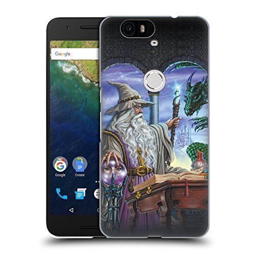 Offizielle Ed Beard Jr Botschafter Drachen Von Dem Zauberer Fantasie Ruckseite Hülle für Huawei Nexus 6P