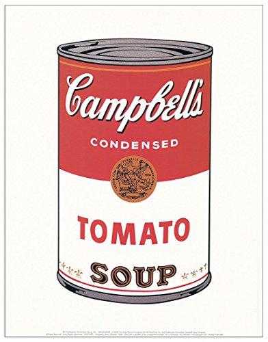 Andy Warhol,Pop-Art,Gemälde,Cambell Soup,Tomaten,Bild