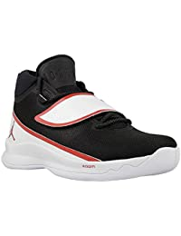 Jordan Homme, Super.Fly 5Po, Mesh/Cuir, Sneakers Hautes, Noir - Noir - Noir, 43 EU EU