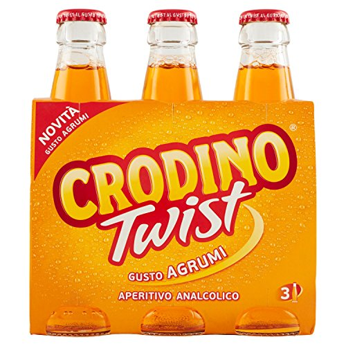 Crodino Twist Agrumi - 3 x 175 ml usato  Spedito ovunque in Italia