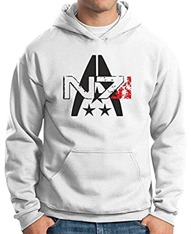 T-Shirtshock - Sweatshirt a Capuche TGAM0054 N7 Systems Alliance, Taille L